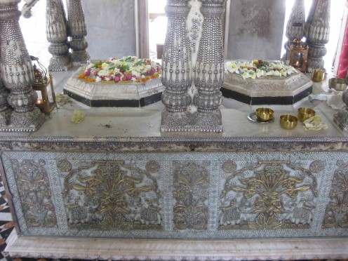 Twin Bedi and Charan Paduka