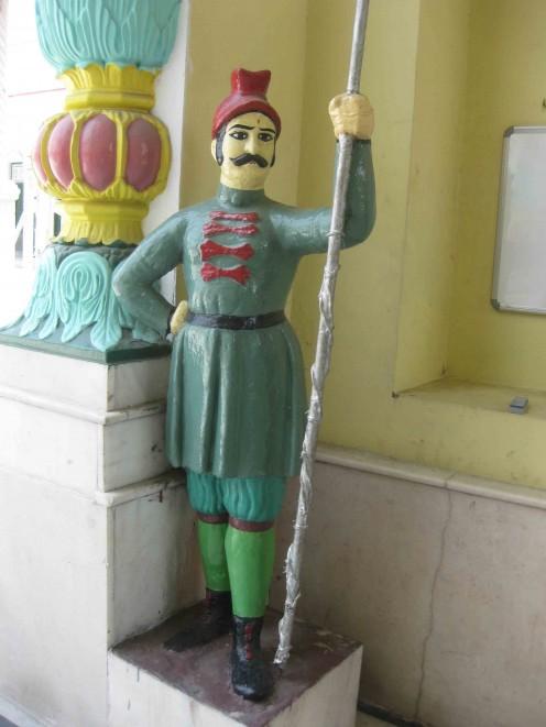 Security Guard Statue