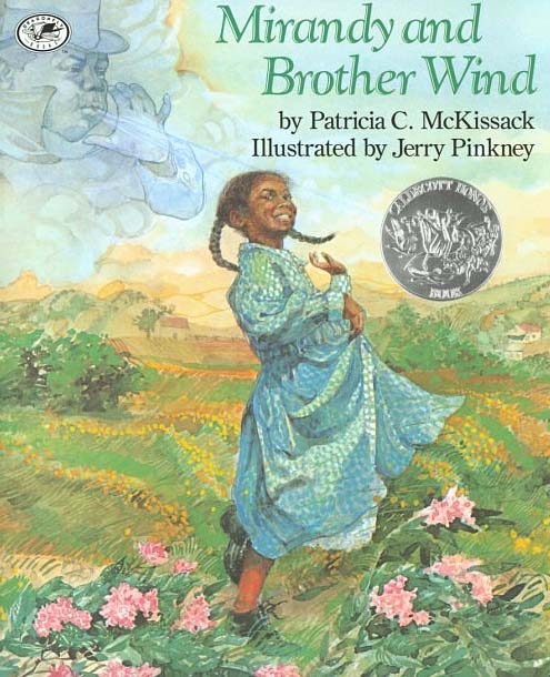 Jerry Pinkney (1939-  ) Cover for Mirandy and Brother Wind Watercolor 1997