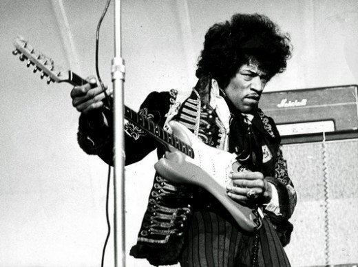 All Along the Watchtower is the only top 40 hit by Jimi Hendrix