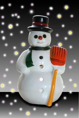 Snowman! (Photo by Robèrt van Alphen)