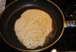 Single Crepe in Pan