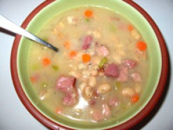 Bear N Mom Recipes - Bean Soup with Ham