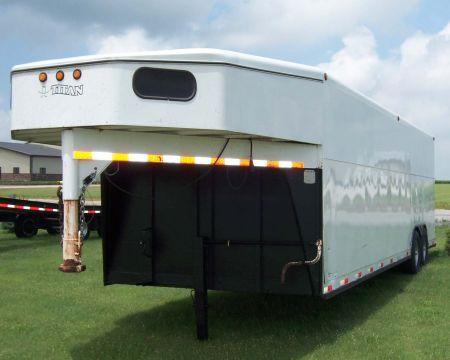 enclosed trailer used