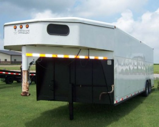 enclosed trailer used