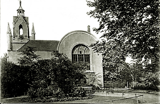 St Mary Magdalen Church, Bermondsey, which was an air raid shelter used by my family during World War II.