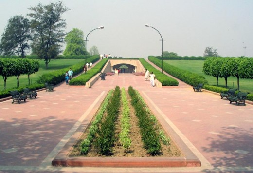 Outside View of Raj Ghat