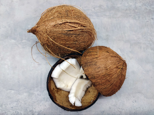 Coconuts are a nutritious fruit, but with 280 calories a serving they should be eaten in moderation for weight loss.