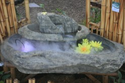 This vendor also has some unique water feature suitable for hone use, patio or small gardens.