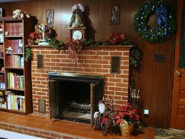 Chimney sweeps will remove built up creosote from your fireplace chimney