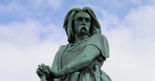 Vercingetorix had shown defiance to the Roman occupation of his lands a generation before the British Isles had been invaded.