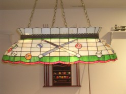Pool table lights Choosing the pool table light to match your retreat
