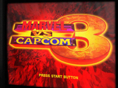 Unofficial rendering of the Marvel vs. Capcom 3 logo.