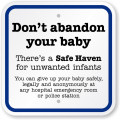 Baby hatch, safe haven ... we can protect the innocent
