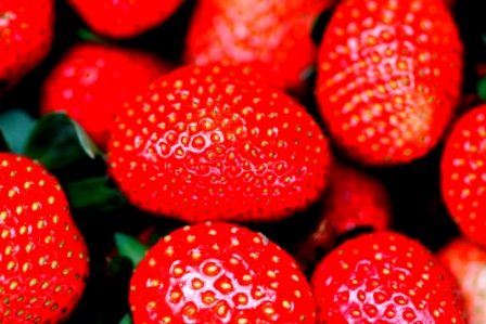 let's eat strawberries!