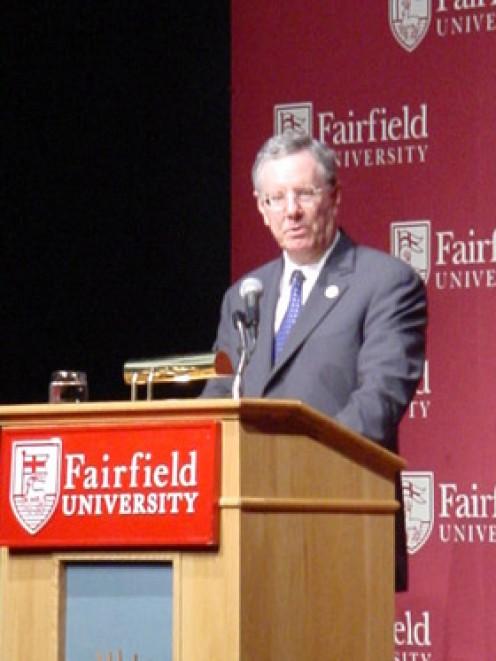 Financial Guru Steve Forbes ---- Flat Tax Proponent      Photo Credit Robyn Atkachunas