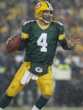 Brett Favre, Quarterback for the Green Bay Packers
