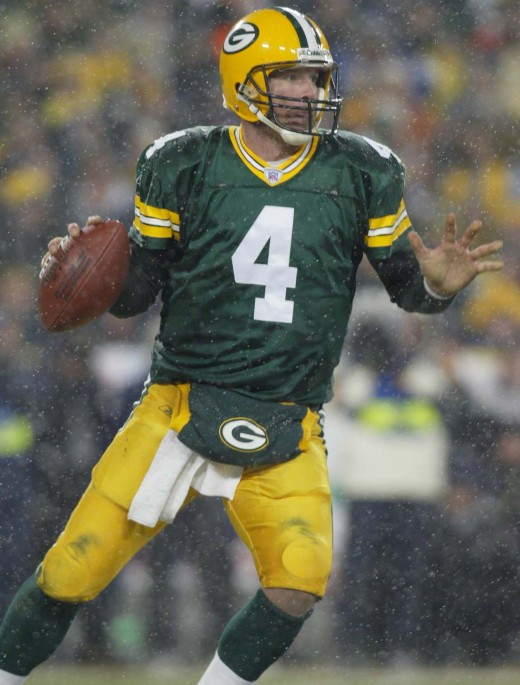 Brett Favre, Quarterback for the Green Bay Packers