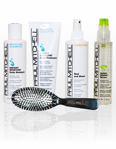 Paul Mitchell offers a wide variety of hair care products.