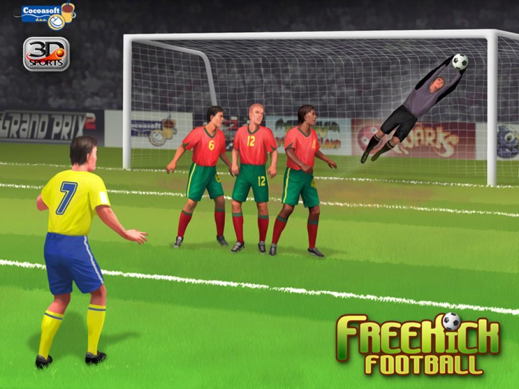 football free kicks game