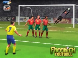 Free Kick Games can make you feel you're on the pitch!