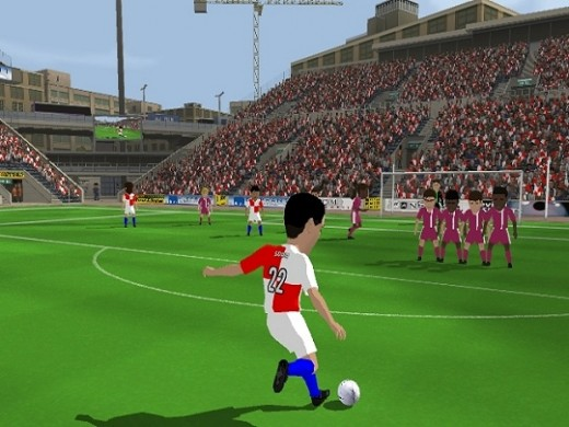 Free Kick Games come with varying levels of realism.
