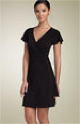 BCBGMaxazria - black knit dress