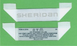 Double Sided Logo Label - Mitre Fold - Care Instructions