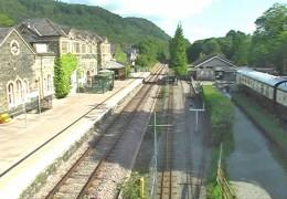Betws-y-Coed railway station North Wales