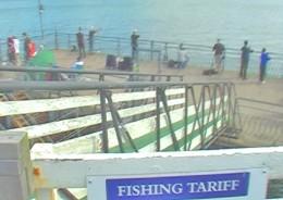 Llandudno fishing pier North Wales