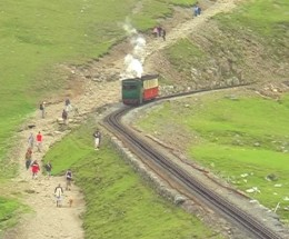 Mount Snowdon Railway North Wales