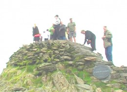 Summit of Mount Snowdon North Wales