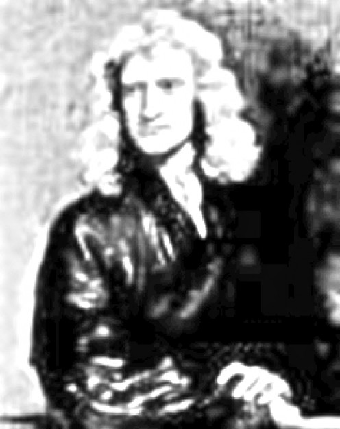 Here Is A Picture Of Isaac Newton