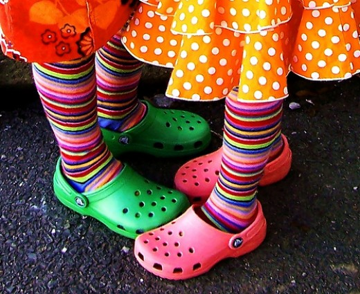Bright, colorful, fun clogs are great for any occasion!