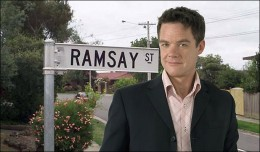 Ramsay Street and Paul Robinson (Stefan Dennis)