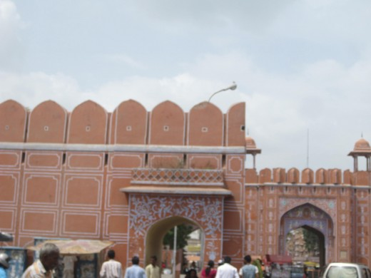 Side gate at Ajmeri gate