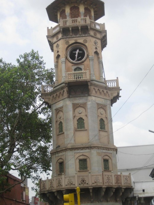 Ghanta Ghar (clock Tower) at Ajmeri gate