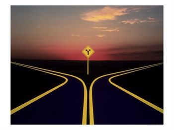 """""""WHEN YOU COME TO THE FORK IN THE ROAD, TAKE IT!""""  YOGI BERRA, 20TH CENTURY PHILOSOPHER"""