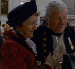 Admiral and Mrs. Croft in the 1995 version of Persuasion