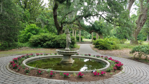 The annual Azalea Festival is held in this special garden.