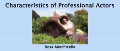 Characteristics of Professional Actors