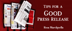 Tips for a Good Press Release