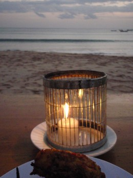 Candles By The Beach