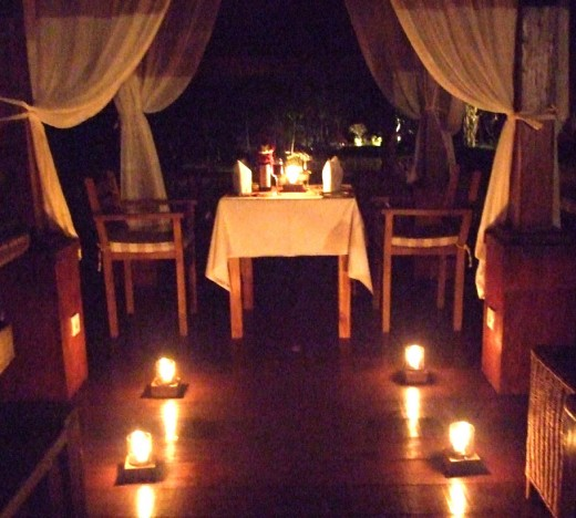 A Romantic Restaurant
