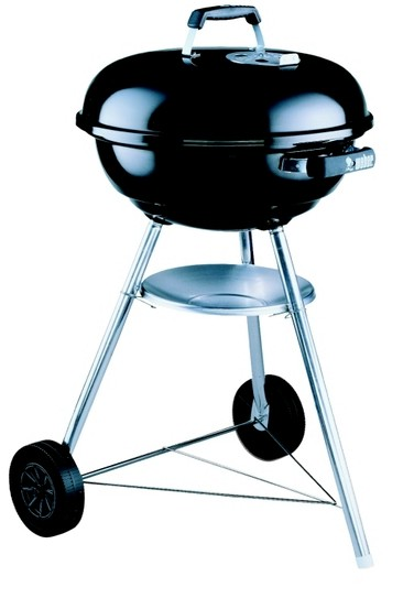 One of the most common styles of charcoal barbecues.