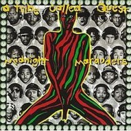 """The Classic """"Midnight Marauders"""" album by A Tribe Called Quest"""