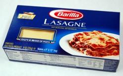 Barilla No-Boil Lasgna Noodles