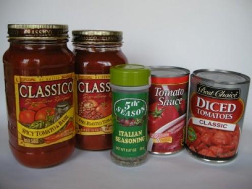 Spaghetti Sauce & Italian Spices