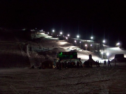 Night Skiing at Marble 2009
