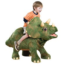 Triceratops the Dinosaur is so much fun!